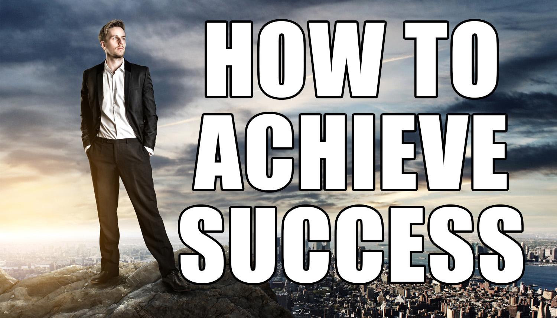 Success in life essay