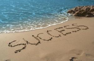 success on the beach