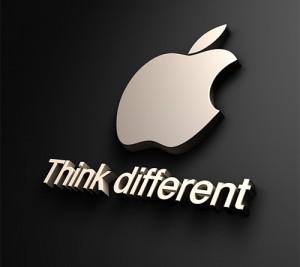 Apple Logo - Think Different